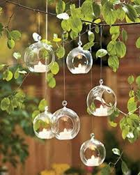 details about 3 hanging glass globe terrarium candle holder bulk pack of 6