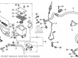 honda trx300ex fourtrax 300ex 1994 r usa parts lists and schematics honda trx300ex fourtrax 300ex 1994 r usa front brake master cylinder