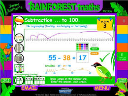 review of mathletics an online math practice website for k  subtract mentally rainforest maths grade 4