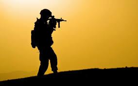 Resultado de imagen para siluetas soldados