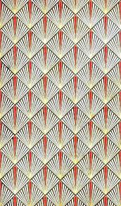 art deco fan wallpaper art bedroom wallpaper geometric patterns historical poppies source apartment