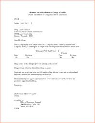 6 Change Address Letter Format Denial Sample For Advice To A ...