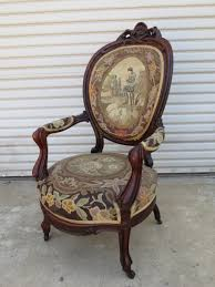 This is a wonderful hand carved American antique Victorian arm chair that  is made out of