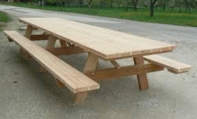 Plan Table De Jardin En Bois Maison Design Bahbe Com Plan Pour Construire Une Table De Jardin En Bois
