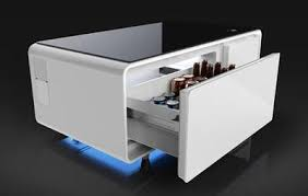 refrigerator table. you\u0027ll never have to leave the couch again refrigerator table e