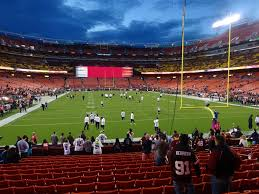 Fedexfield View From Lower Level 133 Vivid Seats