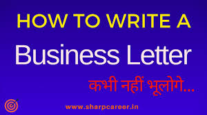 Business Letter ल खन स ख How To Write A Business