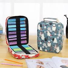 <b>150 Slots</b> Pen Organizer Bag: 13 lovely designs to choose from ...