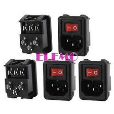 cheap red rocker switch red rocker switch deals on line at get quotations · ac 10a 250v i o spst red light rocker switch iec320 c14 inlet power socket