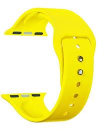 <b>Аксессуар Ремешок Innovation для</b> APPLE Watch 38 40 Yellow ...