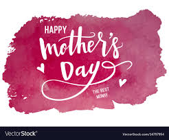 Calligraphy Background Design Happy Mothers Day Calligraphy Background