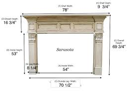 standard fireplace mantel height best photo for modern concept hearth wood mantels inspiration design shelf