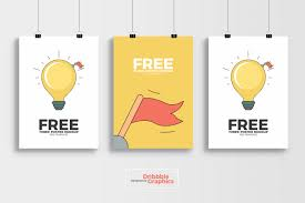 Mockup Poster Free 3 Poster Mockup Psd Template On Behance