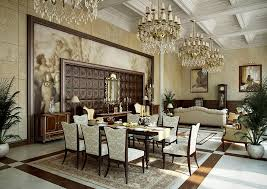 traditional cream gold dining