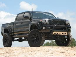 lifted 4x4 | ... Lifted Blacked Out Grill Pro comp 6 inch lift 35 ...