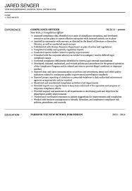 Hippa Compliance Officer Sample Resume Resume Templates Hipaa Privacy Officer Examples Compliance Sample 13