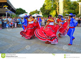 mexican people dancing. Unique People Mexican People Spectacular Dance At Varna SquareBulgaria During Parade Of  23rd International Folklore Festival ParticipantsAugust 3rd 2014 Throughout People Dancing
