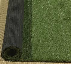 ottomanson garden grass collection outdoor artificial solid grass design area rug 3 3 x 5 green turf ottomanson