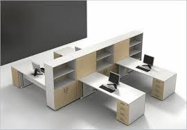 Home Office Ideas:Curved Varnished Modern Wood Desk Design Best Modern  Office Design