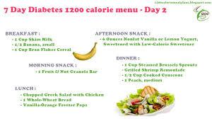 Meal Planning For Diabetes Weekly Diet Plan Diabetic Meal Plans 7 Day Diabetes 1200 Calorie Menu