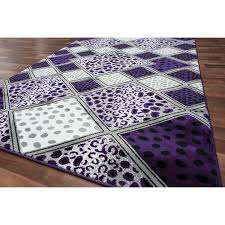 incredible black and purple rug rugs ideas intended for purple and black area rugs