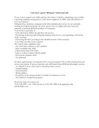 Sample Resume For Call Center sample resume for call center agent applicant Vatozatozdevelopmentco 30