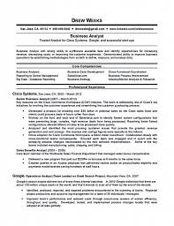 Business Analyst Resume Templates Samples Best Resume Templates
