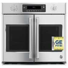 ge 30 in single electric smart french door wall oven self cleaning with