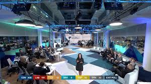 Tv Studio Lighting Design Lighting The General Election Coverage For Itv Hirewl