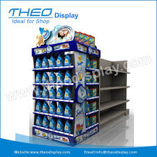 Free Standing Shop Display Units Impressive Freestanding Retail Display Stand Unit For Wash BufferPharmacy