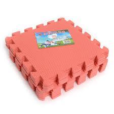 set of 9pcs interlocking puzzle floor foam gym