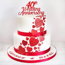 Love Anniversary Cake Floweraura