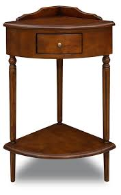 Antique Corner Desk antique wooden corner accent end table desk with drawer box made 2384 by xevi.us