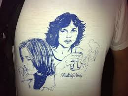 """Awesomely Faded """"Built By Wendy"""" Graphic Tee 