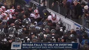 Nevada Wolfpack Football Stadium Seating Chart Breakdown Unlv Tops Nevada In Overtime Brawl Erupts At