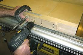 dado jig table saw. the area to right of rip fence is suitable for a table saw router dado jig