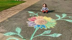 Kids spread love with neighborhood <b>rainbow</b> art scavenger hunts ...