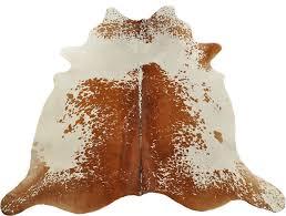 brazilian cowhide rug salt and pepper brown white