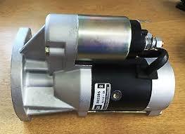 NISSAN DIESEL FORKLIFT Starter Motor, TD27 engine, TPC-62975 ...