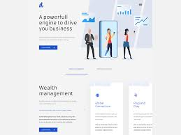 Fintech Website Design Fintech Website Design Sixteen Markets By Hipinspire On