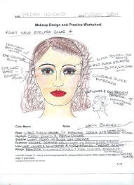makeup for theatre worksheet google search