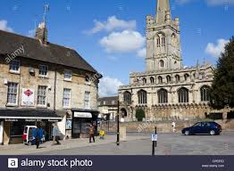 stamford town centre lincolnshire england uk gb stock image