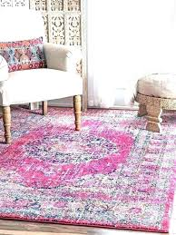 large pink rug big fuzzy rugs furry light fur area in rose and taupe yarn loom