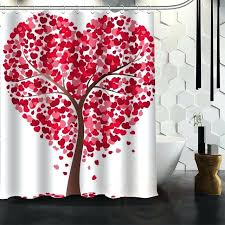 fabric tree shower curtain winter themed shower curtains bathroom outstanding shower curtain set curtains clearance fabric