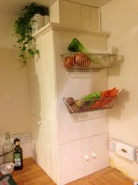 Fintorp dish drainer becomes wall fruit basket