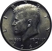 1967 Kennedy Half Dollar Value Chart 1967 Kennedy Half Dollar Value Cointrackers