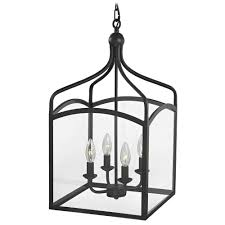 preston large square lantern pendant entryway light