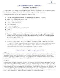 Program Notes Template Personal Story Template Dan Shephard