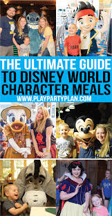 everything you need to know about disney character dining at disney world tips for families