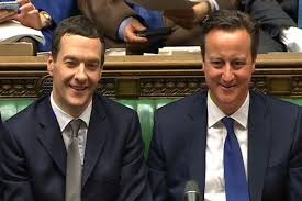 「david cameron and george osborne laughing」の画像検索結果